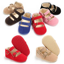Toddler Baby Girl Boys Pincess Anti-slip Crib Shoes Soft Sole Sneakers Prewalker