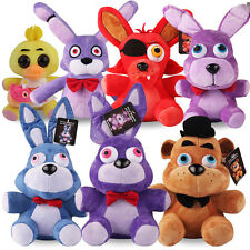New 10'' Plush Toys FNAF Five Nights at Freddy's Plushie Dolls Foxy & Bear Suit
