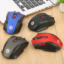 2.4Ghz Wireless Optical Mouse Mini Mice& USB Receiver Gaming Game For PC Laptop