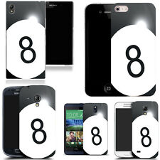 hard back case cover for many mobiles -8 ball