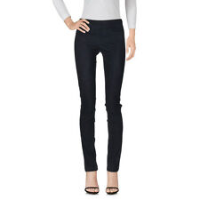 Giorgio Brato NWT Navy Leather Legging Pant $412 orig. $795