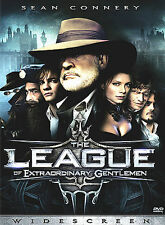The League of Extraordinary Gentlemen (DVD, 2003, Widescreen) New