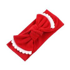 New Cute Baby Toddlers Big Bow Elastic Trimmed Headbands Sweet Turban Hairbands