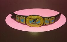 MATTEL INTERCONTINENTAL CHAMPIONSHIP TITLE BELT OLD SCHOOL RARE & SO NICE! WWE