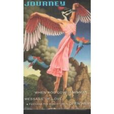 JOURNEY When You Love A Woman CASSETTE US Columbia 1996 2 Track Card Sleeve