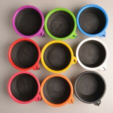 Pet Dog Silicone Collapsible Travel Feeding Bowl Water Food Dish Feeder Portable