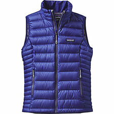 PATAGONIA NWT Womens S DOWN SWEATER VEST 84628 Harvest Moon Blue