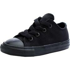 Converse Chuck Taylor All Star II Infant Black Monochrome Textile Trainers Shoes