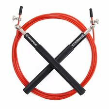 Crossfit Jump Rope Adjustable Jumping Rope Training Aluminum Skipping Fitness