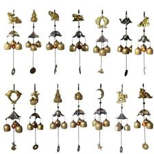3-Bell Hanging Copper Wind Chime Decorative Outdoor Ornament Garden Home Mobile