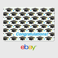 eBay Digital Gift Card - Graduation Caps -  Fast Email Delivery