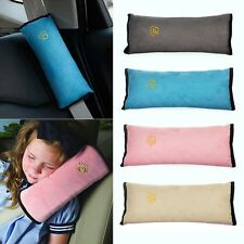 Kids Cushion Vehicle Car Seat Belt Baby Shoulder Pad Cover Pillow Head Support