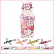 3,6,12 Fairy Flying Gliders Kids/Girls Party Loot Bag Filler Fun Toy Planes