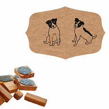 Jack Russell Terrier Craft Stamp - Choice of 2 Designs