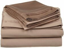 USA Bedding Item 100% Egyptian Cotton Taupe Solid 1000Thread Count US Size