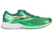 NEW MENS BROOKS LAUNCH 4 RUNNING SHOES TRAINERS ST. PADDY'S DAY GREEN / FERN GRE