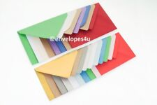 High Quality Coloured C6 114x162mm Envelopes for A6 Cards 100gsm FREE UK P&P
