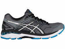 NEW MENS ASICS GT-2000 V5 GEL RUNNING SHOES TRAINERS CARBON / SILVER 4E-XWIDE
