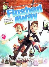 Flushed Away (DVD, 2007, Widescreen; Sensormatic)