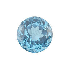 Swiss Blue Topaz AA Quality 1mm-2.5mm Size Faceted Round Shape Loose gemstone