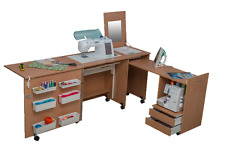 Sewing Machine Cabinet Table Comfort 3L. Hobby Desk Variations Of Colours.