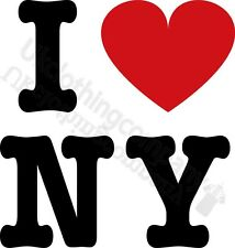 I LOVE NEW YORK T-SHIRT-WOMENS MENS -S M L XL 2XL 3XL 4XL 5XL