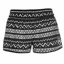 LADIES WOMENS HOT TUNA BLACK WHITE HOT PANTS SWIMMING SWIM SURF BEACH SHORTS