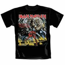 Iron Maiden T Shirt Number of The Beast Official All Sizes Black Rock Merch NEW