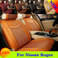 For Nissan Rogue 5 Seats Car Seat Cover Zebra Breathable Chair Cushions Z16B8