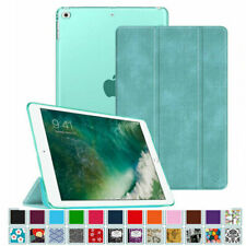 "For New Apple iPad 9.7"" 2017 Case Translucent Frosted Back SlimShell Smart Cover"