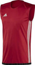 Adidas Adults Mens Box Classic Tank Top Vest - Red/White