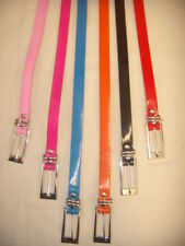 Thin Shiny Skinny Belt - 7 Great Colours to choose from