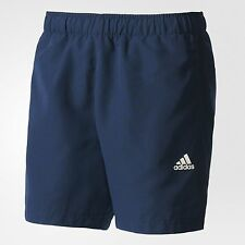 adidas Performance ESSENTIALS CHELSEA MEN'S SHORTS,NAVY/WHITE- S, M,L ,XL Or 2XL
