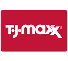 T.J.Maxx Gift Card - $25 $50 or $100 - Fast email delivery