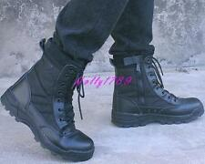 Mens Special Forces Military Army Tactical Ankle Boots Outdoor Camping Combat