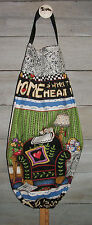 Home Is Where Your Heart Is* ME Motto Plastic Grocery Bag Rag Sock Holder HCF&D