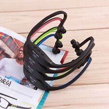 new USB Sport Running MP3 Music Player Headset Headphone Earphone TF Slot EW