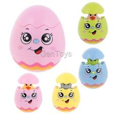 Kids Baby Smiling Tumbler Egg Toy Musical Sound Light Developmental Toy Doll