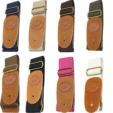 IRIN Adjustable Soft Canvas Strap for Electric Acoustic Guitar Bass Colors Pick