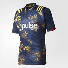 adidas Performance HIGHLANDERS MEN'S RUGBY AWAY JERSEY Navy/Gold - S, M, L Or XL