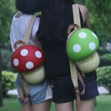 Women backpack cute Kids 3D Cartoon Mushroom Children's Backpacks Bag Girl