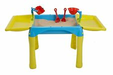 Sand & Water Fold-away Play Table-With Optional Extras - PLAY - Sand, Set, Pit.