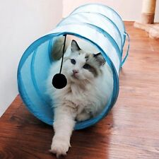 Fantastic Cat 3 Colors Folding Play Tunnel Pet FS945 Dog Toy With Ball 50*25cm