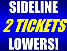 2 of 6 tickets TCU Horned Frogs West Virginia Mountaineers 10/7