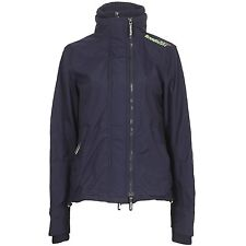 Superdry Technical Pop Zip Windcheater Womens Jacket Brand New