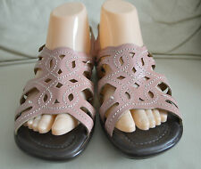 THE SHOE TAILOR LADIES LEATHER SANDALS SIZE UK 6 E FITTING