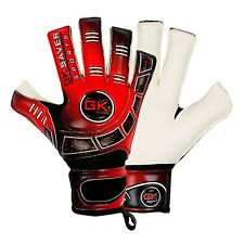 Football Goalkeeper Gloves Cool 04 Kids Red Roll Fingersave Goalie Gloves