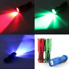 3W 300LM SK68 Mini LED Flashlight Torch Adjustable Focus Zoom Red Light Lamp New