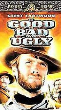 The Good, the Bad and the Ugly [VHS] Clint Eastwood, Eli Wallach, Lee Van Cleef