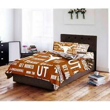 NCAA University of Texas Longhorns Bed in a Bag Comforter Bedding Set
